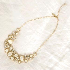 Kate spade crystal bib necklace